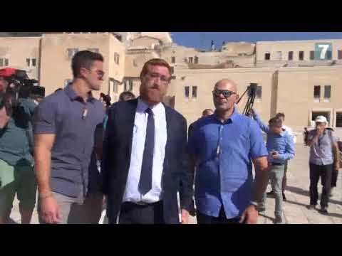 Knesset member summarizes ascent to Temple Mount