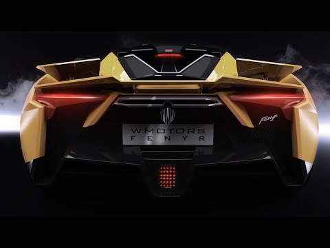 W Motors Fenyr SuperSport – Triptych Active Spoiler