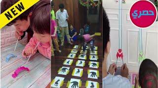 العاب منزلية للاطفال والكبار مسابقات عائلية مسلية بالحجر المنزلي تعرض لاول مرة
