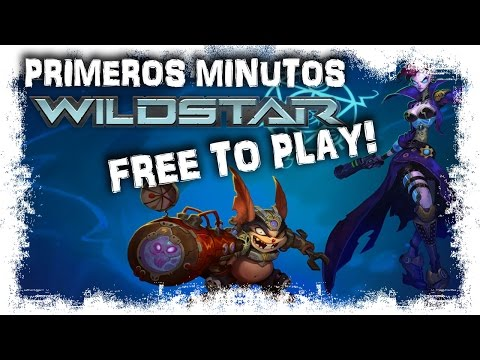 Wildstar Gameplay Español | Exiles: Primeros minutos | MMOrpg Free To Play Action Combat