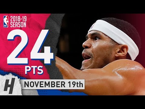 Tobias Harris Full Highlights Clippers vs Hawks 2018.11.19 - 24 Pts, 8 Reb, 2 Blocks!