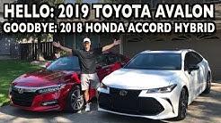 Say Hello: 2019 Toyota Avalon, Goodbye: 2018 Honda Accord Hybrid on Everyman Driver