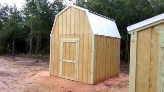 10x10 Barn And 6x8 Gable - Shed Plans - Stout Sheds Llc