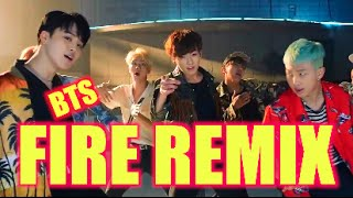 BTS FIRE DISNEY WORLD (DANCE CHALLENGE)