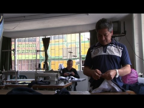 Former FARC guerilla builds new life as tailor