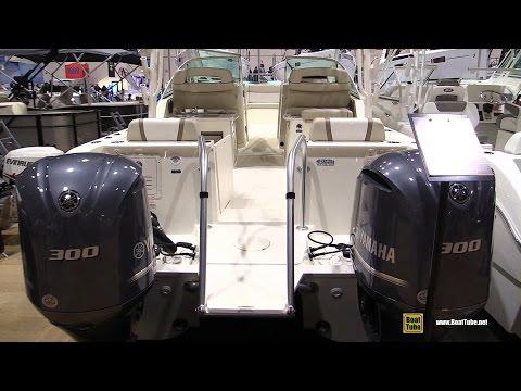 2016 World Cat 295 DC Fishing Catamaran - Walkaround - 2017 Toronto Boat Show