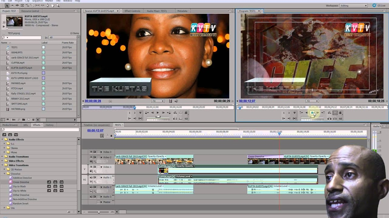 How To Edit Video Using Adobe Premiere Cs5 Windows Movie