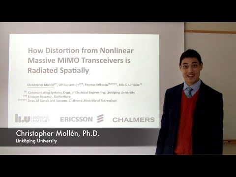 How Distortion from Nonlinear Massive MIMO Transceivers is Radiated Spatially