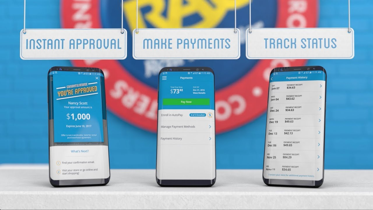 Rent-A-Center Mobile App - Make Payments & Manage Your Account