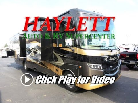 HaylettRV - 2017 Jayco Precept 36T Two Full Bath Closet or Bunks Class A Gas Motorhome
