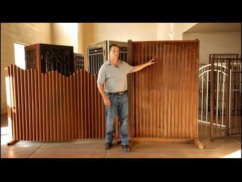 How much is corrugated steel fencing? An educational video by Affordable Fence and Gates