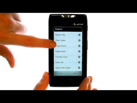 How Do I Change The Ringtone On My Motorola Droid RAZR Or RAZR Maxx?