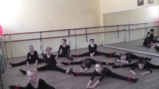 открытый урок на метод объединение, эстрадный танец
