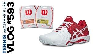 Djokovic Tennis Shoes + New String -- VLOG #593