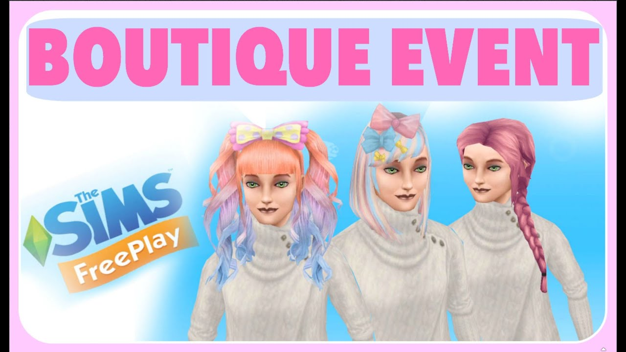 The Sims Freeplay Long Hairstyle -