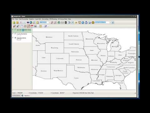 Simple GIS Software Tutorials - Publishing maps as Web Map Services ( WMS ) from Simple GIS Server