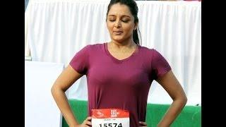 Manju Warrier @ Kochi Half Marathon Hot Stills