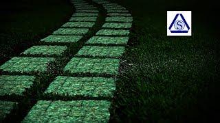 Новая идея бизнеса. Тротуарная плитка Луна. Светится в темноте. Oscar Sib - Бизнес Идеи.(, 2016-10-12T09:14:37.000Z)