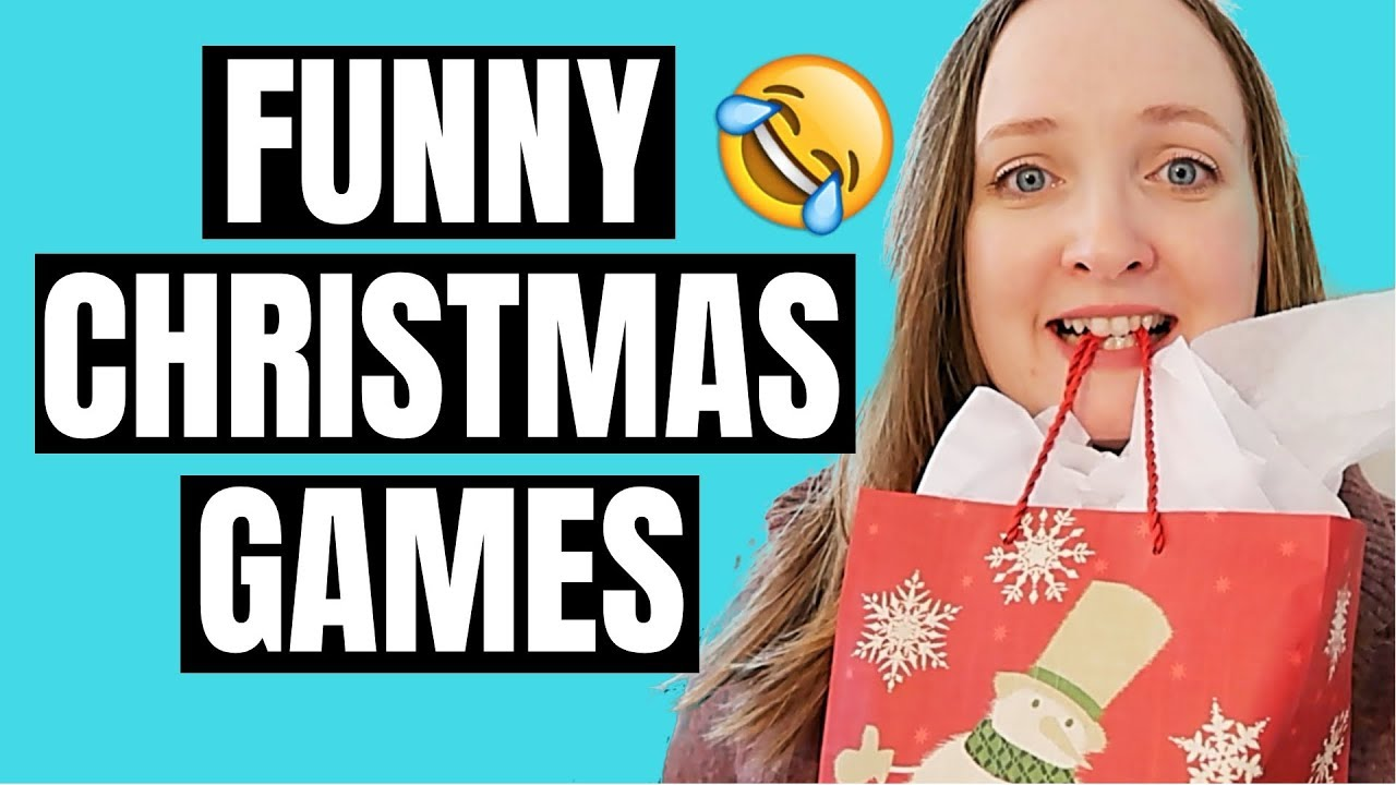 3 Hilarious Christmas Party Games Part 4 Youtube