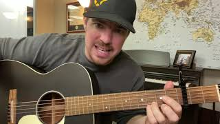 Less Like Me | Zach Williams | Beginner Guitar Lesson