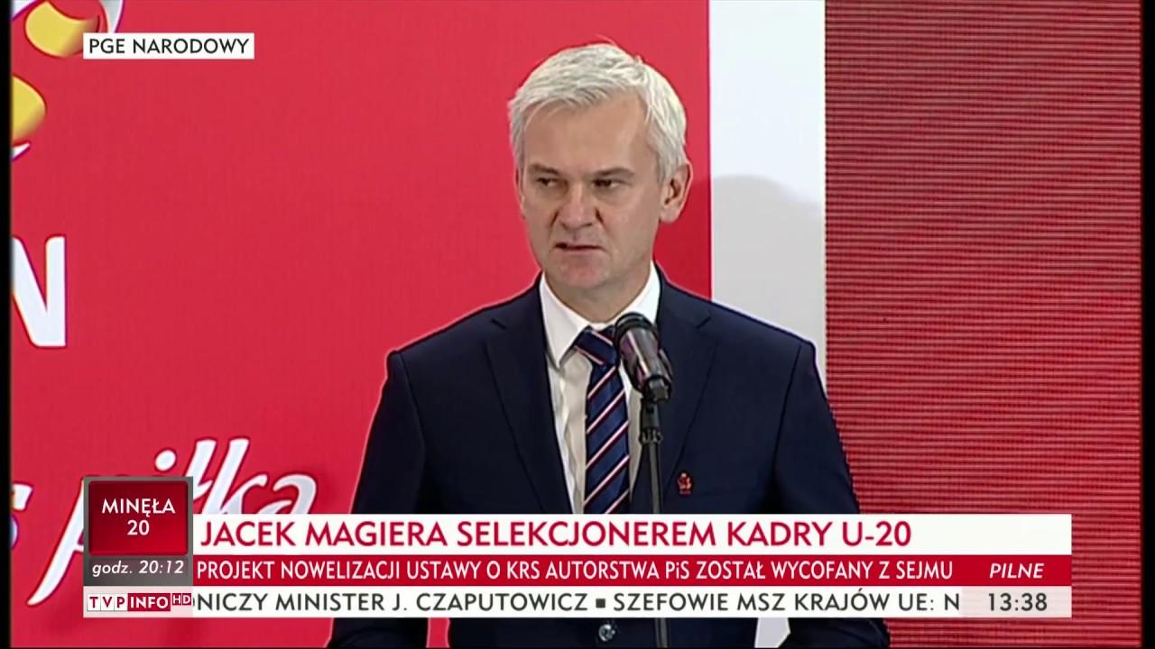 Jacek Magiera: zaczynamy przygotowania do mundialu