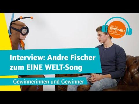 Interview Andre Fischer zum EINE WELT-Song