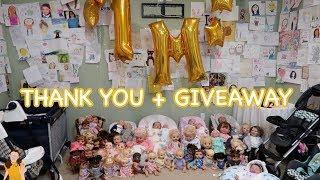 1 MILLION SUBSCRIBERS! GIANT GIVEAWAY | Kelli Maple