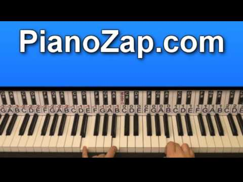 how to play walk foo fighters on piano tutorial youtube. Black Bedroom Furniture Sets. Home Design Ideas
