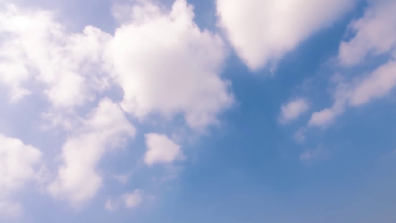 blue sky background video time lapse clouds moving footage youtube channel 10 minutes - EP 144