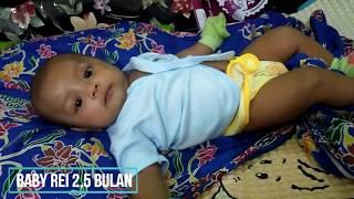 Bayi Rei umur 2 Bulan Lucu Banget