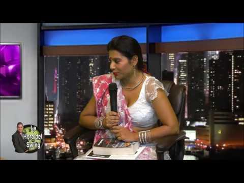 Presentación de danza India y libro magicNine por Canal America TV, nyc