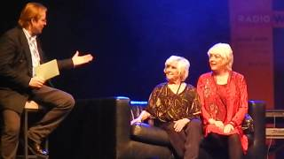 Ruth and Mom McCartney about Beatles fans 2015 in Vienna