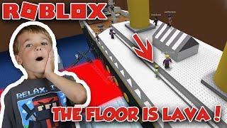 WIE IST DER FLOOR IST LAVA in ROBLOX