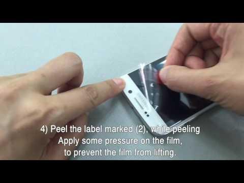 Защитная пленка Ringke для телефона Samsung Galaxy S6 Edge (Full Cover) – установка
