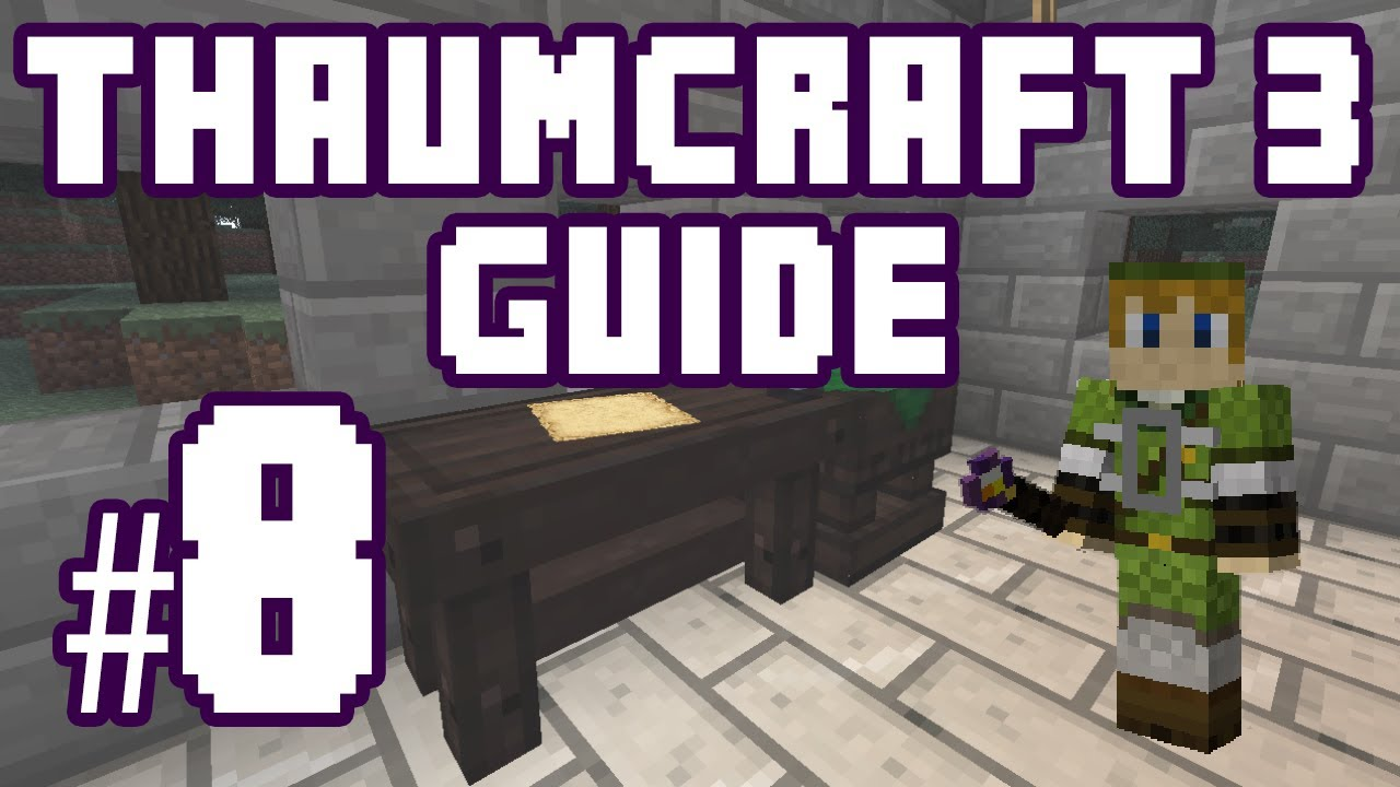 15 EASY TUTORIAL : THAUMCRAFT 6 HOW TO GET RID OF FLUX 2019