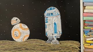 Star Wars! ♫ Chalk Art Lullaby for Babies, Pets, Plants, or You ;)