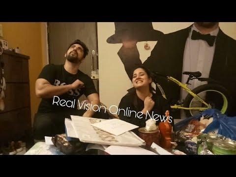 Exclusive Aditi Rathore birthday Adiza AvNeil gifts segment Part 2 with Zain Imam Real Vision Online