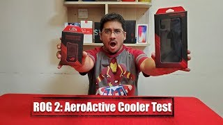 ROG2: AeroActive Fan Cooler / Heating Test