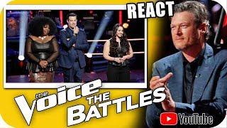 ALICIA KEYS ERROU? BLAKE ACERTOU? The Voice 2018 Battle JessLee vs Kyla Jade, Jamai vs Sharane Calis