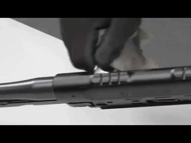 SAUER 303 - Reinigungsfilm // Cleaning the SAUER 303
