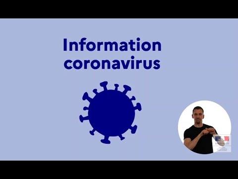 Vidéo Spots TV et Radio Coronavirus - Voix Off: Marilyn HERAUD