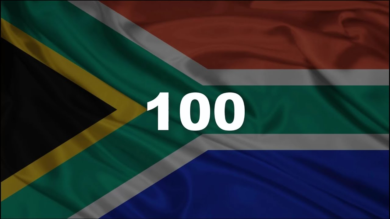 Counting 1 to 100 in Afrikaans | Tel 1 tot 100 - YouTube