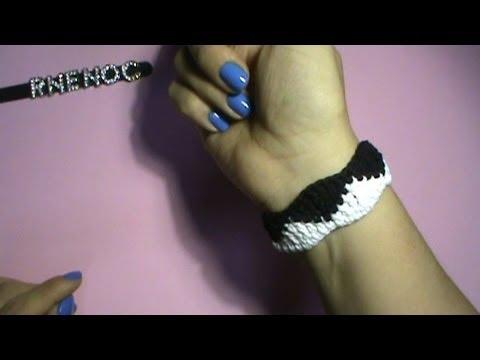 Como hacer pulseras unisex