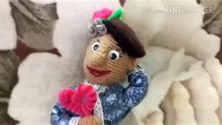 Жених для Марьюшки . Вязаная Кукла в подарок.