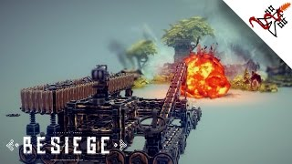 Besiege - How To Create A Reloadable Catapult