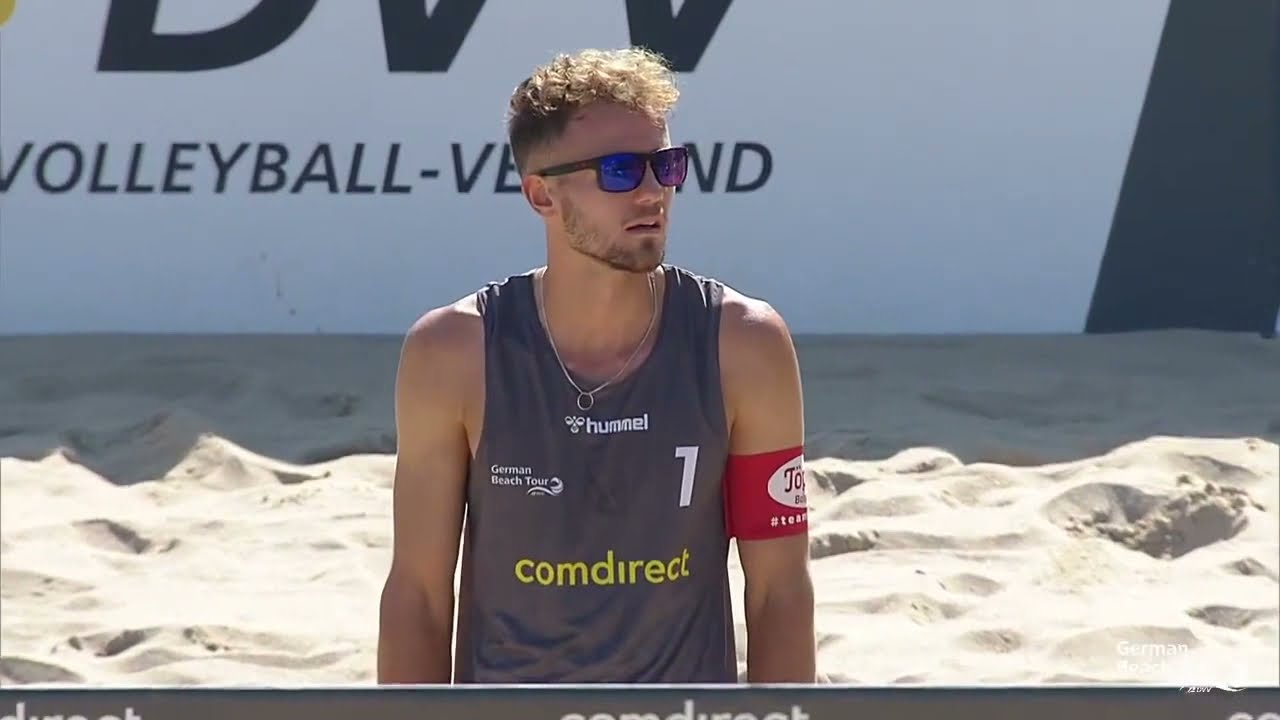 Download Halbfinale Deutsche Beach-Volleyball Meisterschaften | Walkenhorst/Winter vs. Sagstetter/Sagstetter