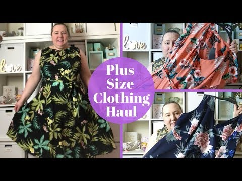 Plus Size Clothing Haul & Try On | Spring Summer Plus Size Haul | Size 22 | Dorothy Perkins Sale