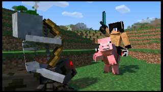 Te pup papa  in Minecraft