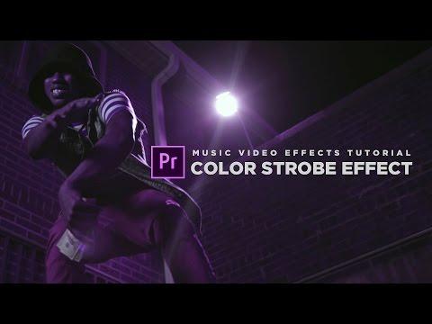 Music Video Effect Tutorial | Color Strobe (Premiere Pro CC 2017)