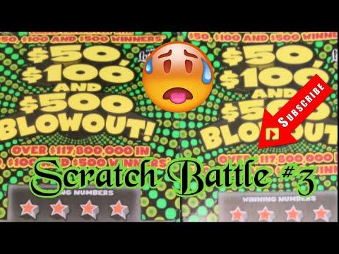 Scratch Battle... # 3... Get Rich Or Die Scratching